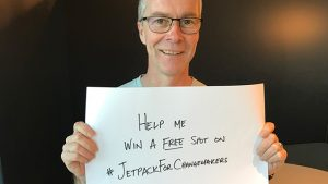 Win a free spot on Jetpack for Changemakers!